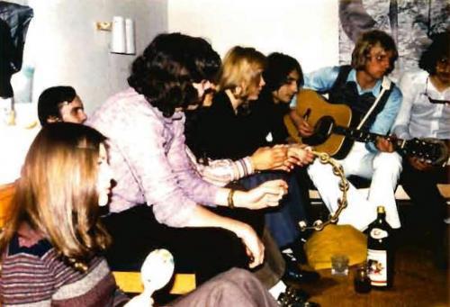 MFF- 1972 Partygig bei Helmut 01